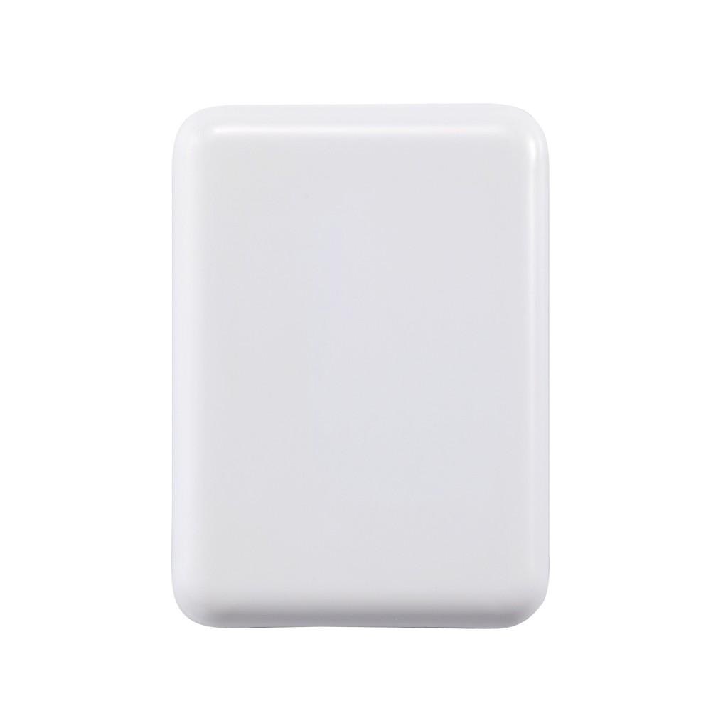 Reisstekker met 4 USB poorten, wit, View 10