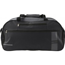 Polyester sporttas / reistas - zwart