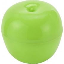 Bewaardoos voor 1 appel - licht groen