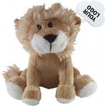 Pluchen knuffel 'leeuw'. 'Leo' - bruin