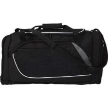Polyester (600D) sporttas - zwart