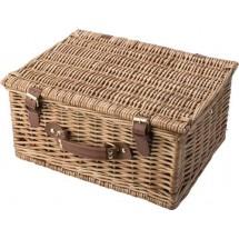 Picknickmand, 2 personen - bruin