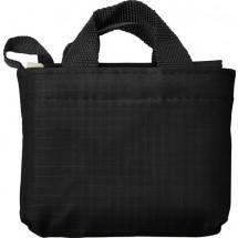 Oxford opvouwbare boodschappentas - zwart