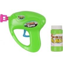Kunststof bellenblaas pistool 'Bubble' - licht groen