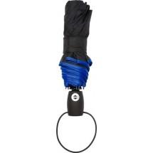 Automatisch opvouwbare paraplu 'Retro' - blauw