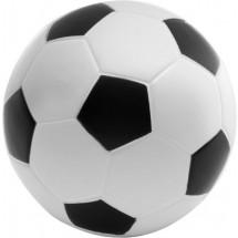 Anti-stress voetbal van PU foam - zwart / wit