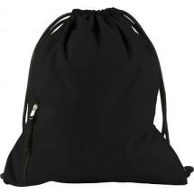 Pongee polyester (190T) rugzak - zwart