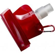 Opvouwbare waterfles 'Basic' - rood