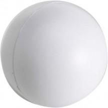 Anti-stress bal van PU foam. - wit