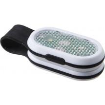 Veiligheidslamp met krachtige COB LED lampjes - zwart