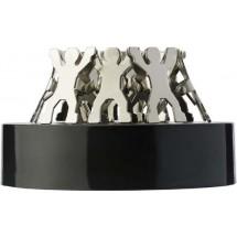 Magnetische houder 'People' - zilver