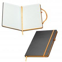 A5 notitieboekje Cuxhaven-oranje