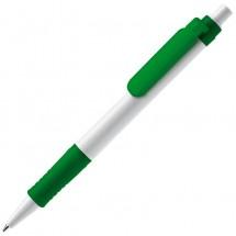 Balpen Vegetal Pen - wit / groen