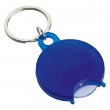 Winkelwagenmunthouder / sleutelhanger REFLECTS-TALLAGHT BLUE