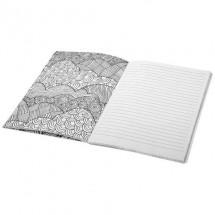 Doodle kleurentherapie notitieboek - wit