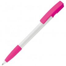 Balpen Nash Hardcolor - Wit / Roze