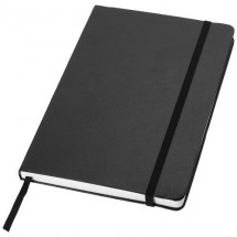 Classic kantoornotitieboek - zwart