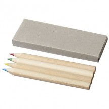 4 delige pennen set - Naturel