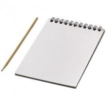 Kleurrijk krasboek - Wit