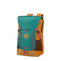 American Tourister Urban Groove Lifestyle Backpack 4 17.3''-Groen/Orange