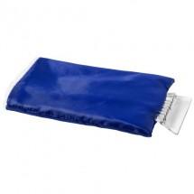 IJskrabber met beschermhandschoen - blauw