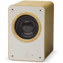 Speaker Hout 3W - Hout / Licht