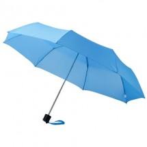 Ida 21.5'' 3 Sectie paraplu - blauw