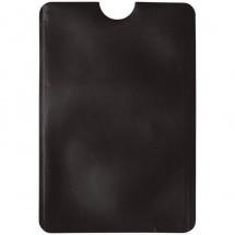Kaarthouder anti-skimming (soft case) - zwart