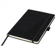 Suède A5 notitieboek Zwart