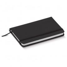 PU notitieboekje A6 - zwart