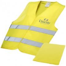 Professioneel veiligheidsvest met hoes - geel