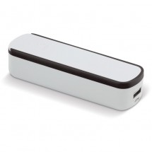 Powerbank Slide-n-Charge 2200mAh - Wit / Zwart
