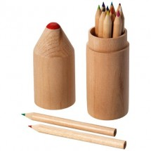 12 Delige potlodenset - hout