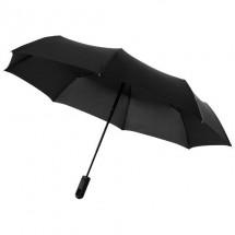 """Traveler 21.5"""" 3 sectie automatische paraplu - zwart"""