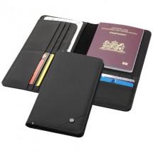 Odyssey RFID reisportefeuille - zwart