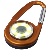 The Eye Karabiner COB Licht - orange