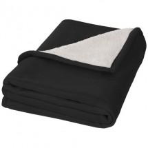 Springwood deken - zwart/off white