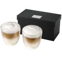Boda 2 delige koffieset - transparant