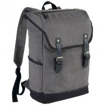 """Hudson 15,6"""" laptop rugzak - donker grijs/licht grijs"""