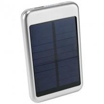 Bask 4000 mAh powerbank op zonne-energie - zilver