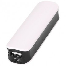 Edge powerbank 2000 mAh - wit/zwart
