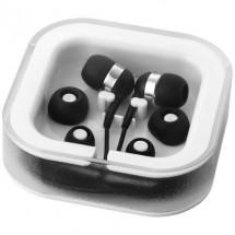 Sargas oordopjes met microfoon - zwart