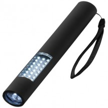 Magnetische zaklantaarn met 28 LEDs - zwart