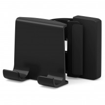 LAP CLIP PHONE HOLDER - zwart