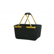 Shopper BlackBasket - goud