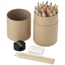 26 Delige potlodenset - hout