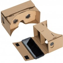 VR bril van karton - bruin