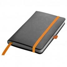 Notitieboekje met 160 vel gelinieerde paginas - oranje