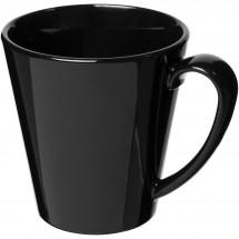 Supreme 350 ml kunststof mok - Zwart