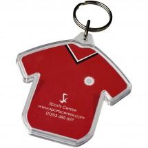 Combo T-shirtvormige sleutelhanger - Transparant